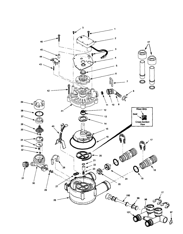micro switch wiring harness